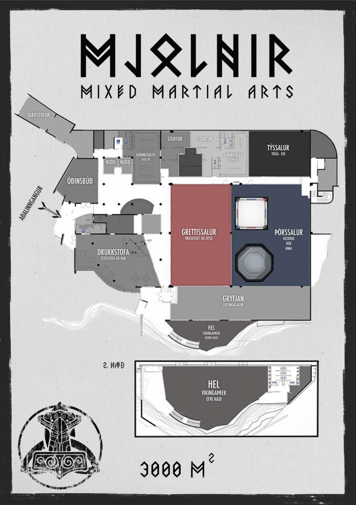 Map of MJOLNIR
